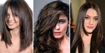 Какой цвет краски для волос подходит брюнеткам